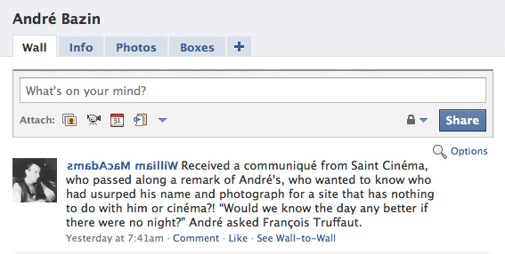 clipping from andre's facebook page