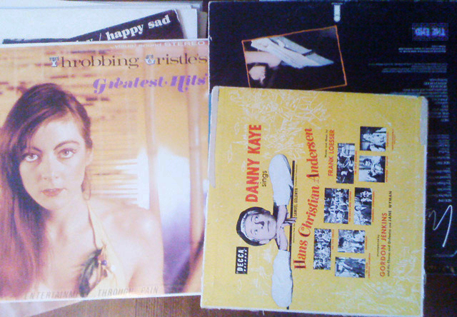 record covers. T.G.'s greatest hits, happy sad, nico and dannt kay